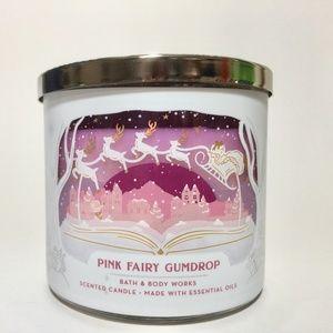 PINK FAIRY GUMDROP 3 Wick